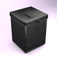 traditional ballot box uk model