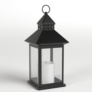 3D decorative lantern candle 1