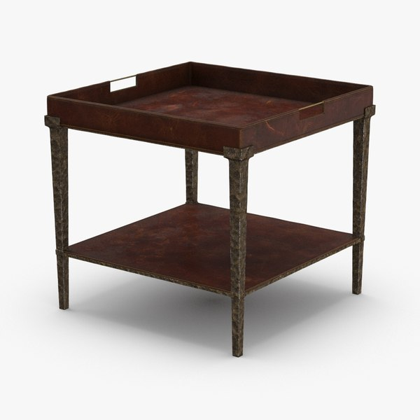 3D classical-side-table