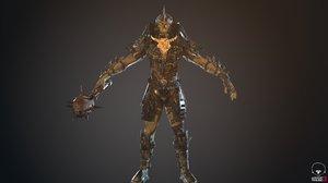 3D model character destroyer