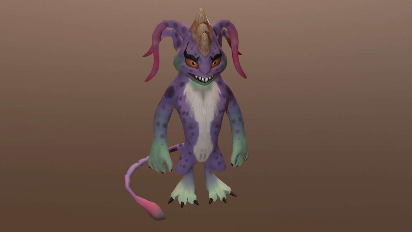 beast games mobile 3D model
