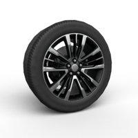 3D 20 suv car wheel