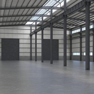 warehouse interior 3D