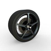 rim sport car wheel model