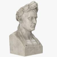 3D napoleon bust model