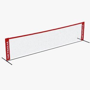 3D soccer tennis net