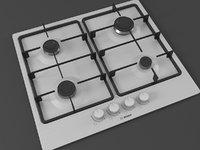 3D cooktop cook