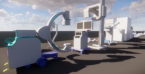 177 medical equipments revit 3D model