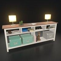 3D stuff table model