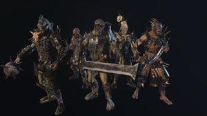 3D model character games