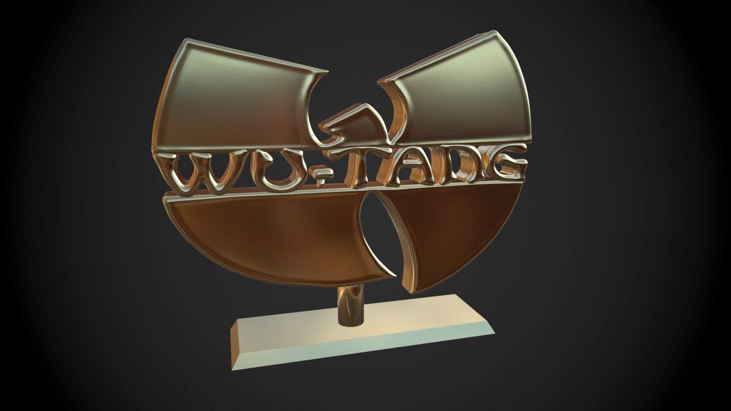 3D wu tang clan logo