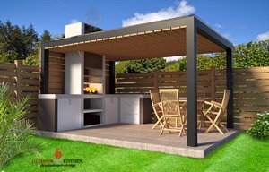 outdoor kitchen furniture model