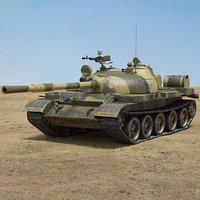 t-62 t 62 3D model