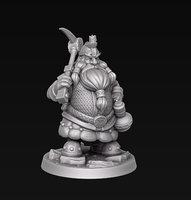 dwarf miner model