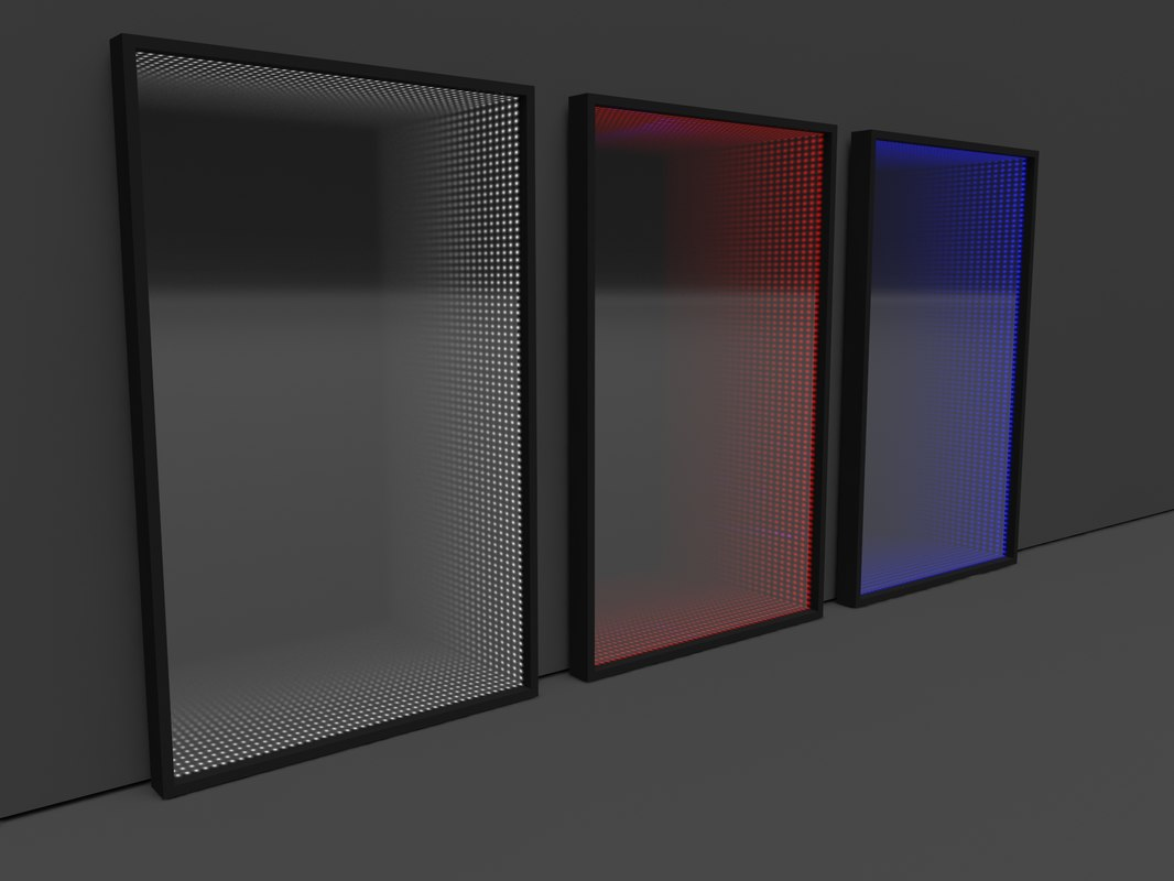 3D infinity mirror