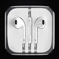 3D model apple earpods