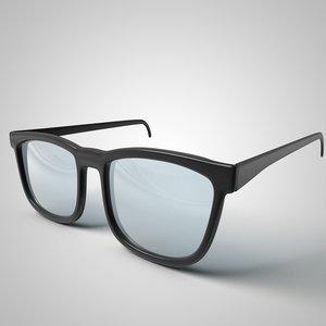 3D cartoon glasses