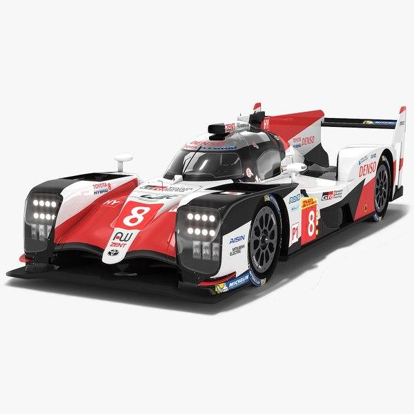 3D model toyota gazoo racing ts050