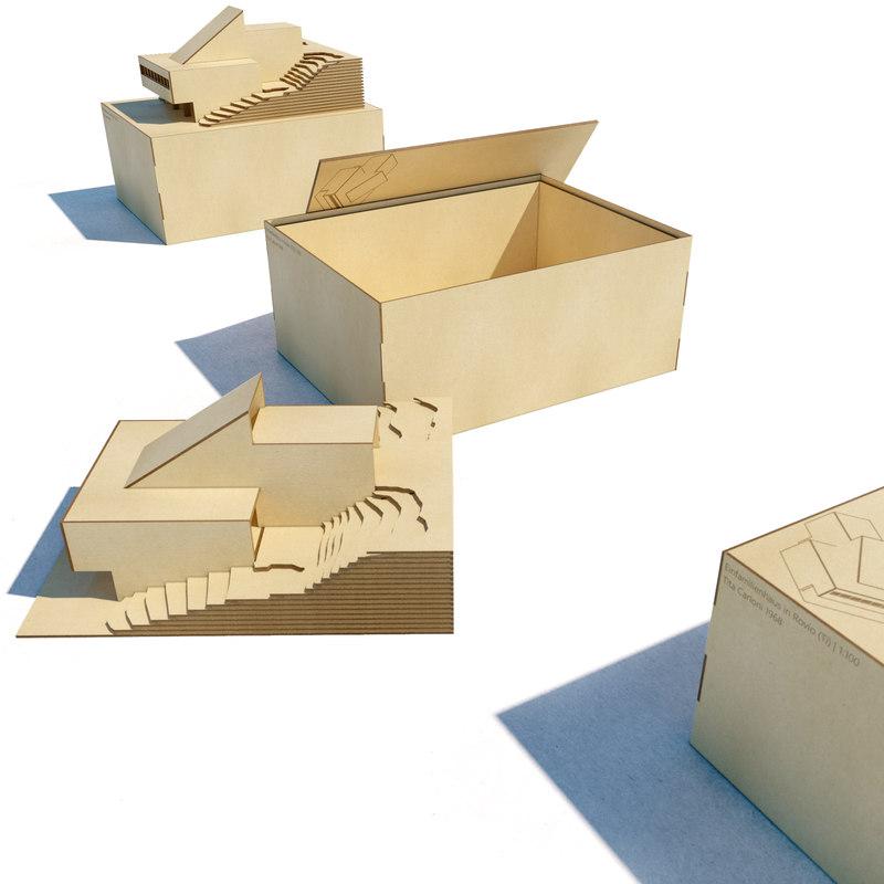architecture box 3D