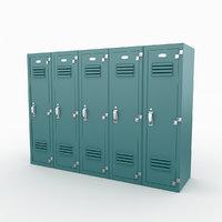 3D model locker 2