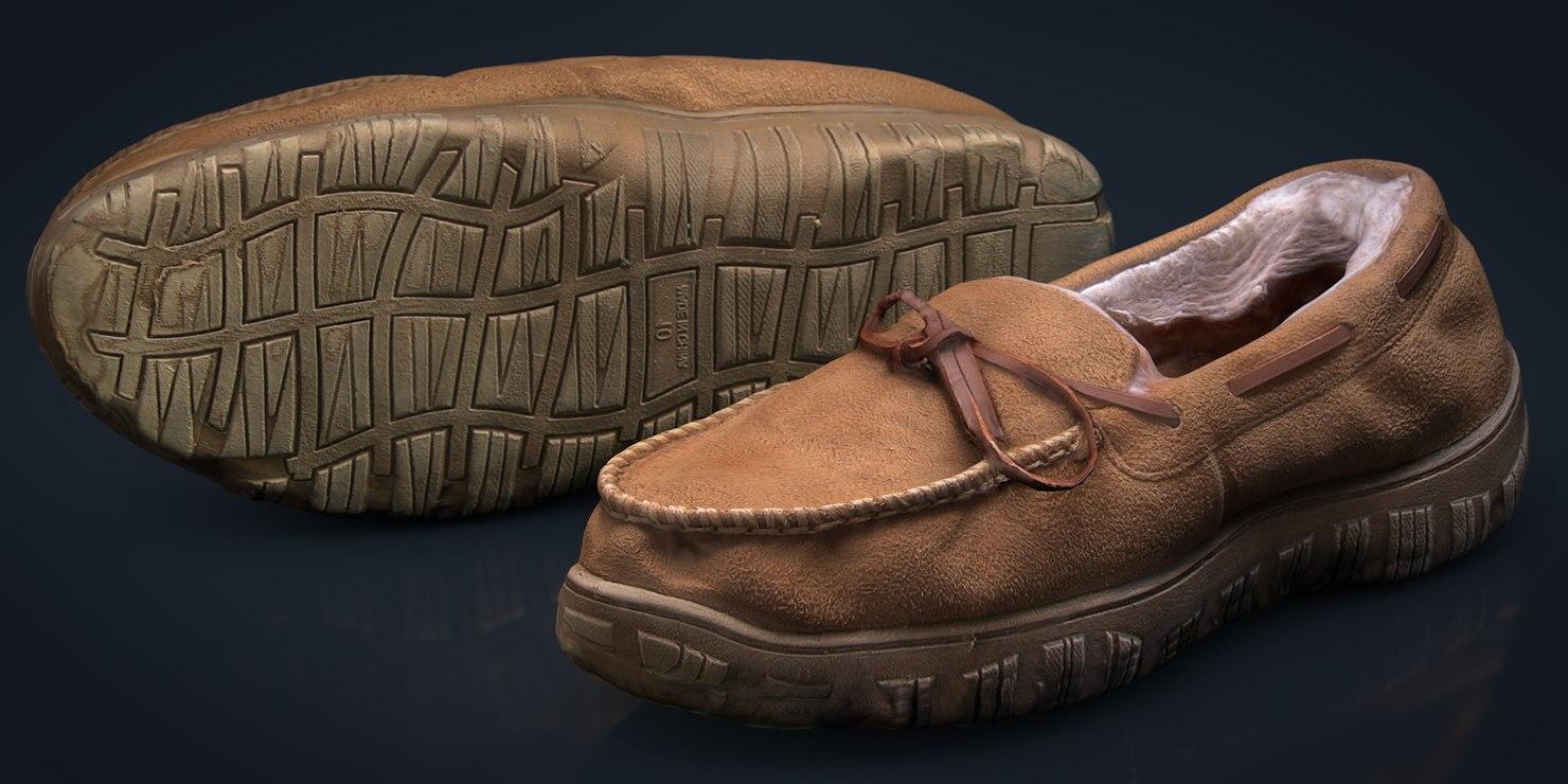 moccasins shoes 3D