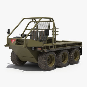 military mobility vehicle atmp 3D model