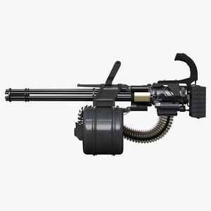 gatling gun 3D