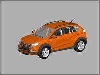lada 2015 3D model