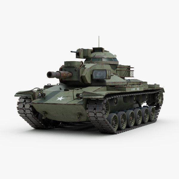 m60a2 starship battle tank 3D model
