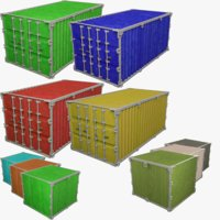 Cargo Containers Collection V4