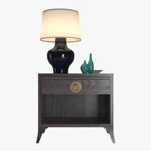 vanguard coltrane table lamp 3D
