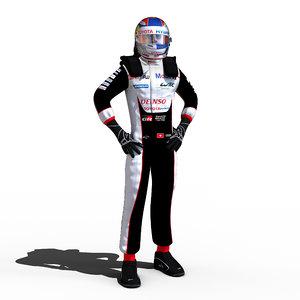 3D model 2018 wec sebastien
