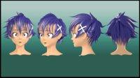 Raku Ichijou hair style