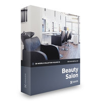 3D beauty salon volume 101 model