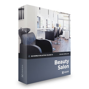 3D beauty salon volume 101 model
