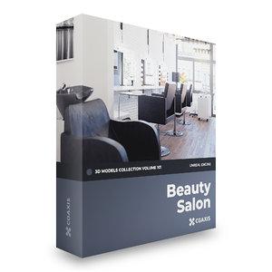beauty salon volume 101 3D