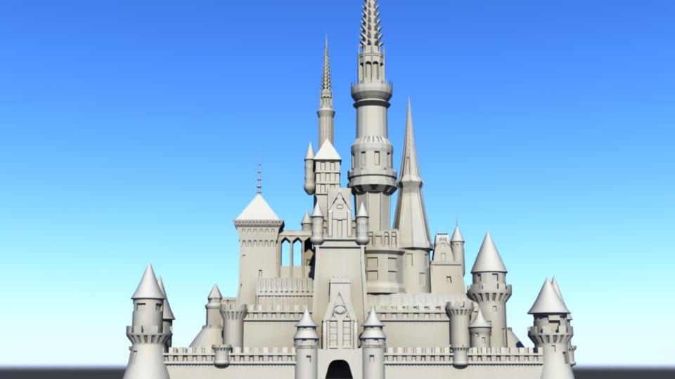 3D castle backgrounds