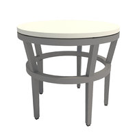 table-004 slant stone table 3D model