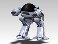 ed-209 solidworks stl 3D model