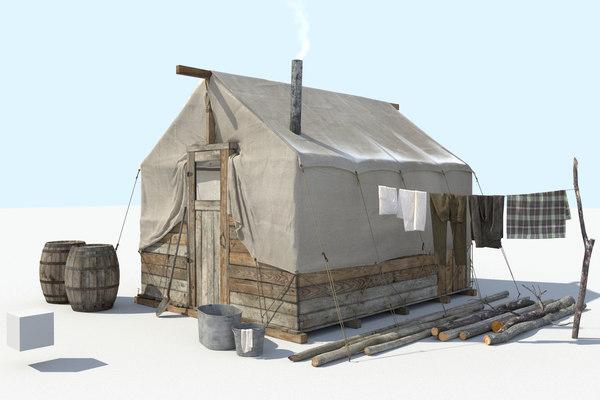 frontier tent model