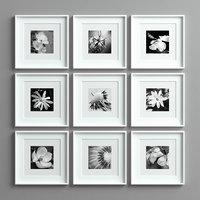 3D picture frames set -14 model
