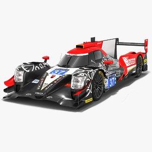 3D jackie chan dc racing model
