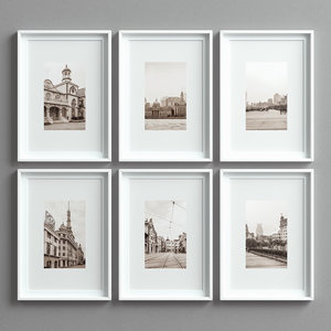 picture frames set -15 3D