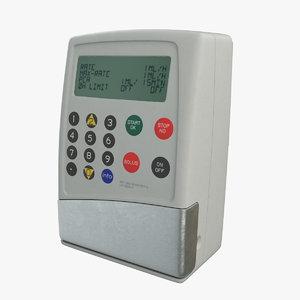 iv pump model
