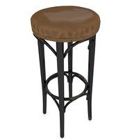 stool polys 3D model