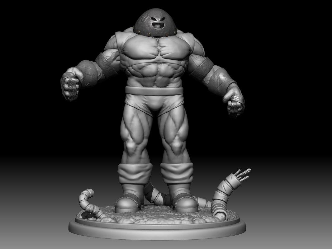 3D juggernaut print