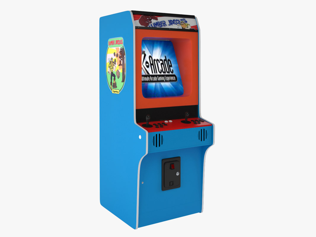 3D aracade machine