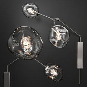 3D bra branching bubble lindsey model