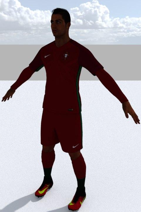 3D ronaldo games