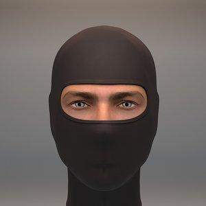 3D balaclava mask warm